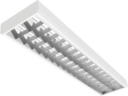 UX-CLASSIC ASN.NC LA накладной растровый светильник с зеркальной решеткой