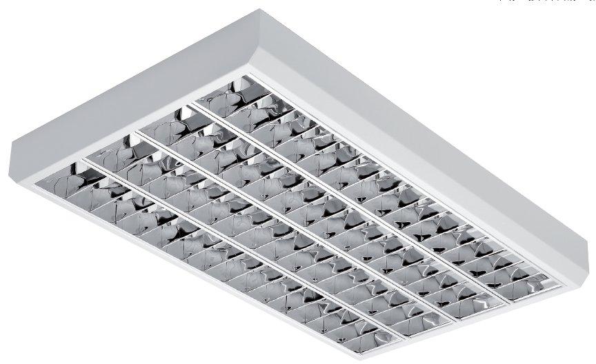 Офисные потолочные накладные люминесцентные светильники UX-CLASSIC ASN.NC PAR-V в Украине на Elmar