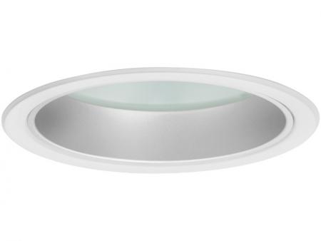 DOWNLIGHT 202 IP44/IP20 d195/175 мм Матовый потолочный светильник встраиваемый