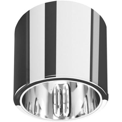 Хромированный вариант светильников накладных потолочных круглых UX-TUBUS