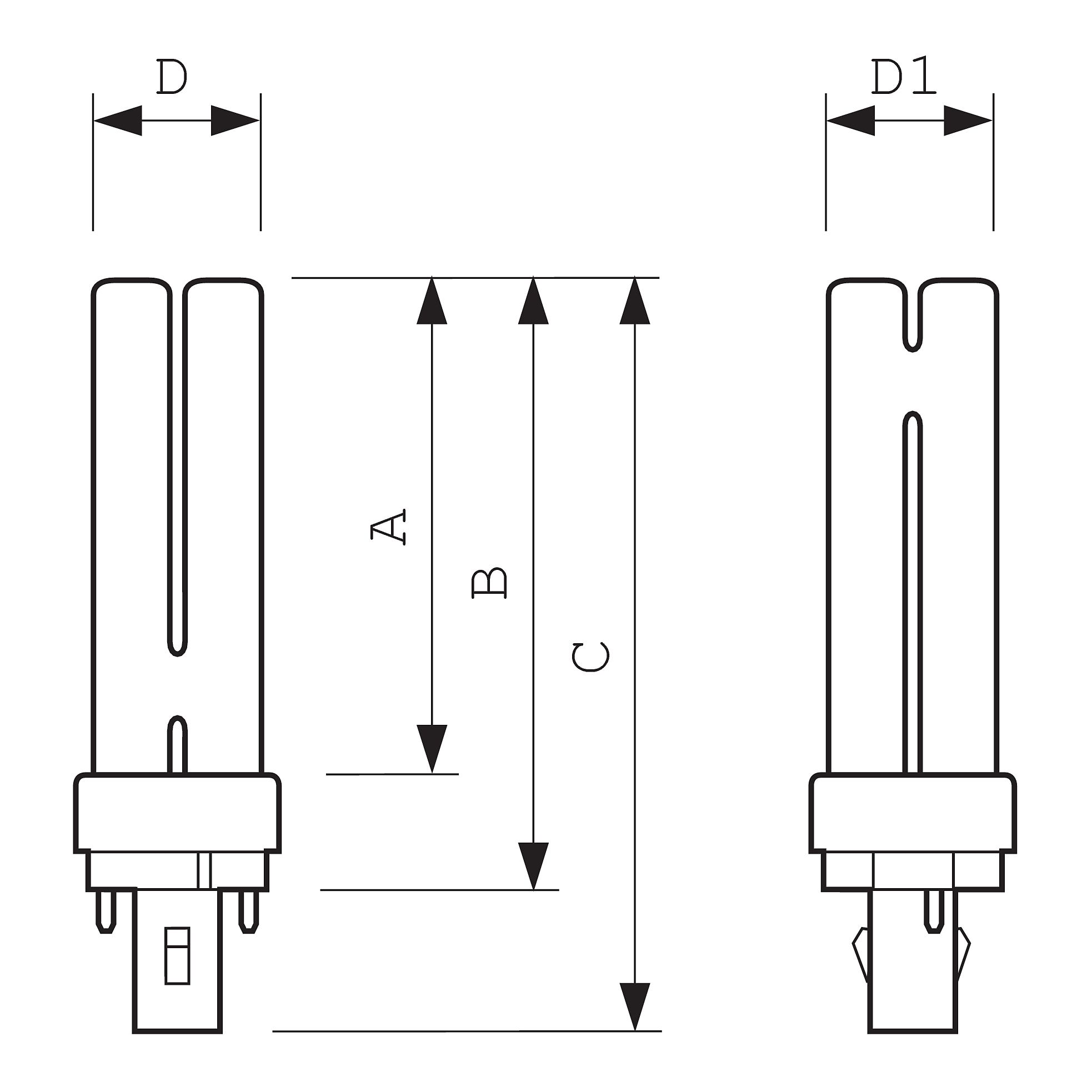схема балласт 11w/840