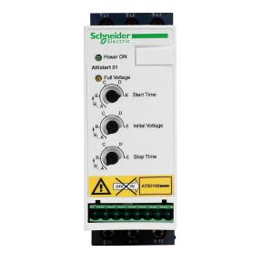 Устройства плавного пуска - это полупроводниковые устройства, которые можно использовать вместо пускателей двигателей по всей линии, чтобы уменьшить скачок пускового тока, вызванный большими нагрузками : электромаркет интернет-магазин ELMAR Украина