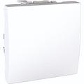 Переключатель-Выключатель 1-клавишный (сх. 6) (2 модуля Белый, Unica) MGU3.203.18 : интернет-магазин Elmar Украина