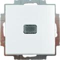 2006/1 UCGL-94-507 Выключатель 1-клавишный (сх. 1) с подсветкой Basic 55 цвет-белый ABB : интернет-магазин Elmar Украина