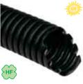 Труба гофрированная d=20 гибкая ПЭ черная с протяжкой УФ-стойкая для наружного монтажа : интернет-магазин Elmar Украина
