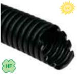Труба гофрированная d=32 гибкая ПЭ черная с протяжкой УФ-стойкая для наружного монтажа : интернет-магазин Elmar Украина