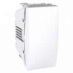 Кнопка (1 модуль Белый, Unica) MGU3.106.18 : интернет-магазин Elmar Украина