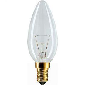 Лампа свеча 60W E14 230V B35 CL : интернет-магазин Elmar Украина