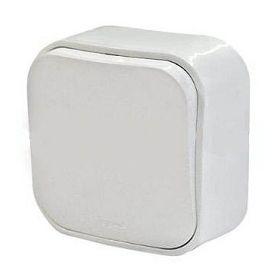 Выключатель без фиксации (кнопка) 6 A - 250 В Forix (Quteo) (белый) : интернет-магазин Elmar Украина