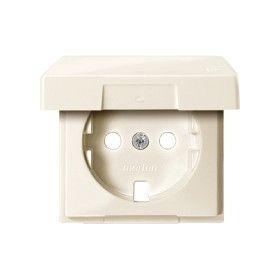 Центральная пластина к розетке SCHUKO с крышкой, Merten System M (Бежевый) Schneider Electric : интернет-магазин Elmar Украина