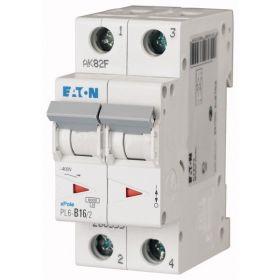 Автоматический выключатель PL6-C16/2 Eaton-Moeller : интернет-магазин Elmar Украина