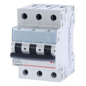 Автоматический выключатель 10 A C 3p 6kA TX3 Legrand : интернет-магазин Elmar Украина