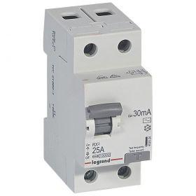 Дифференциальный автомат 1П+Н C 25A 30mA-AC RX3 : интернет-магазин Elmar Украина