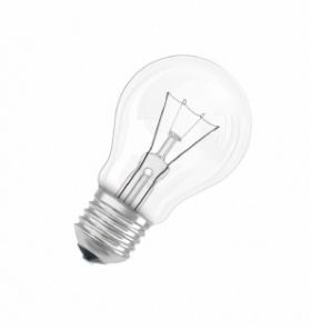 Лампа накаливания  CLAS A CL 75 W E27 : интернет-магазин Elmar Украина