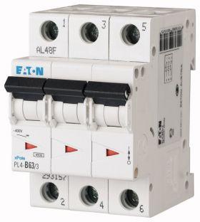 Автоматический выключатель PL4-C20/3 Eaton-Moeller : интернет-магазин Elmar Украина