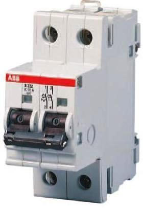 Автоматический выключатель 25а|SH202-C25|2-полюса|характеристика C|6 kA|ABB, Германия : интернет-магазин Elmar Украина