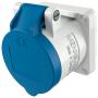 Розетка для монтажа на панели 16 A 3 Pin с TwinCONTACT 1619 IP 44 : интернет-магазин Elmar Украина